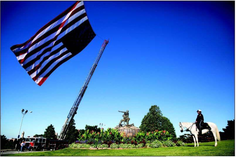 A pause to salute the fallen of 9/11