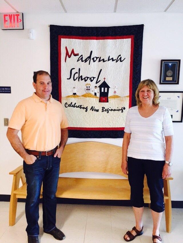 local business owner donates to madonna school good news omaha com rh omaha com