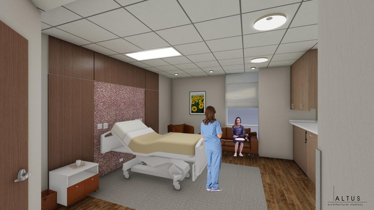 patient room -with people