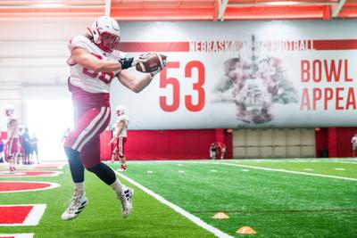 Husker notes: Jack Stoll's goal? A lot of points; Receivers developing depth