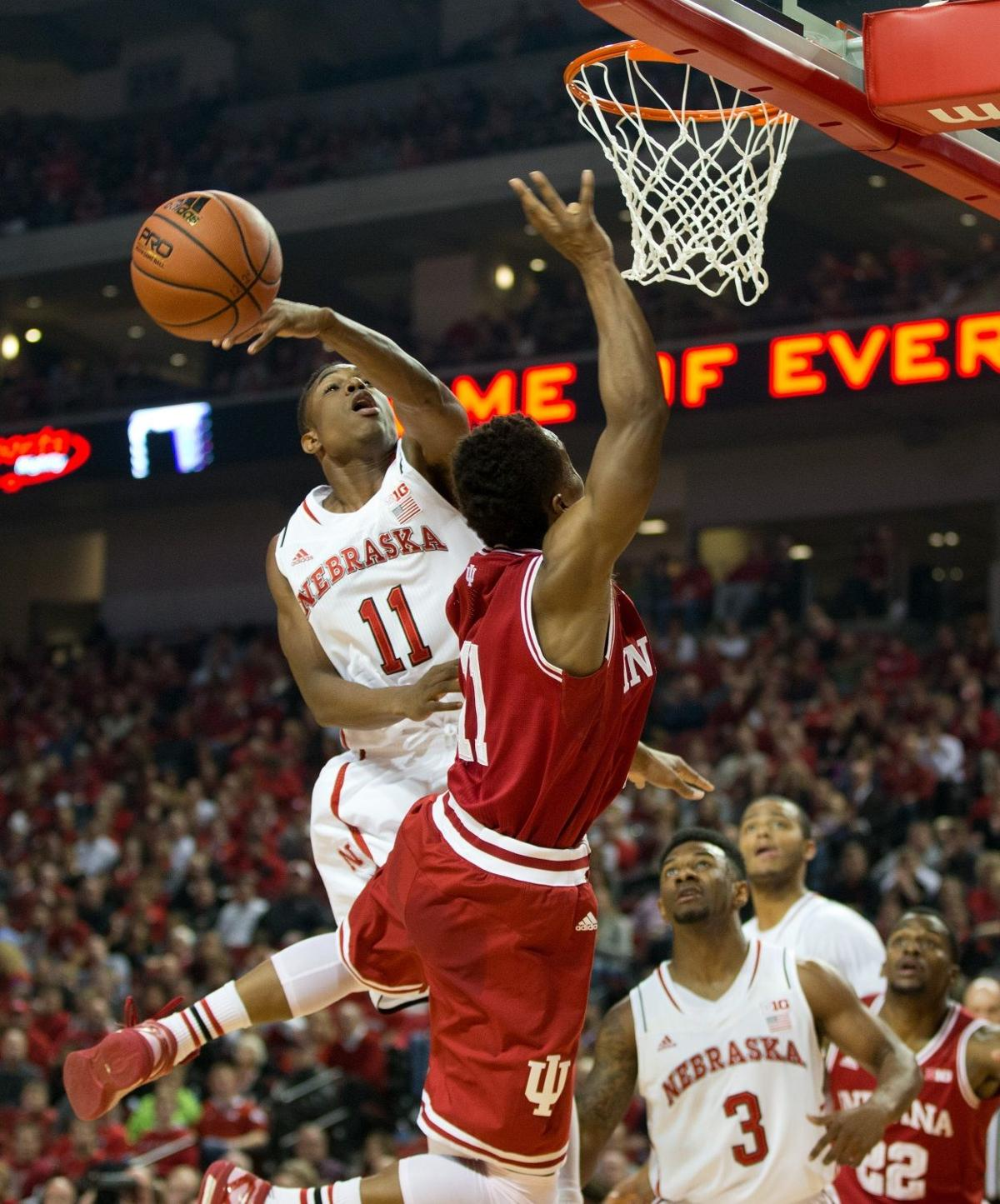 Huskers fall to Hoosiers as second-half rally comes up ...