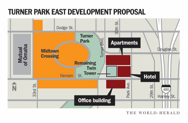Mutual's plan for property east of Midtown Crossing includes