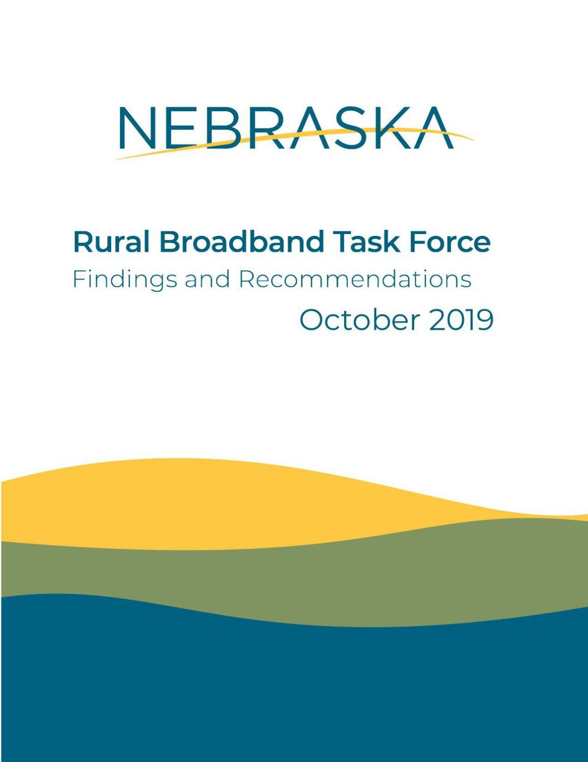 Rural Broadband Task Force Report