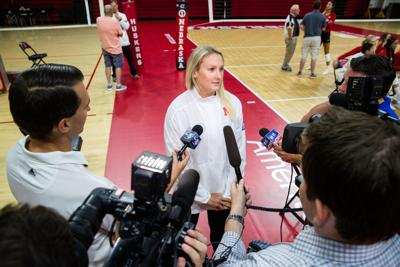 Kelly Hunter media day