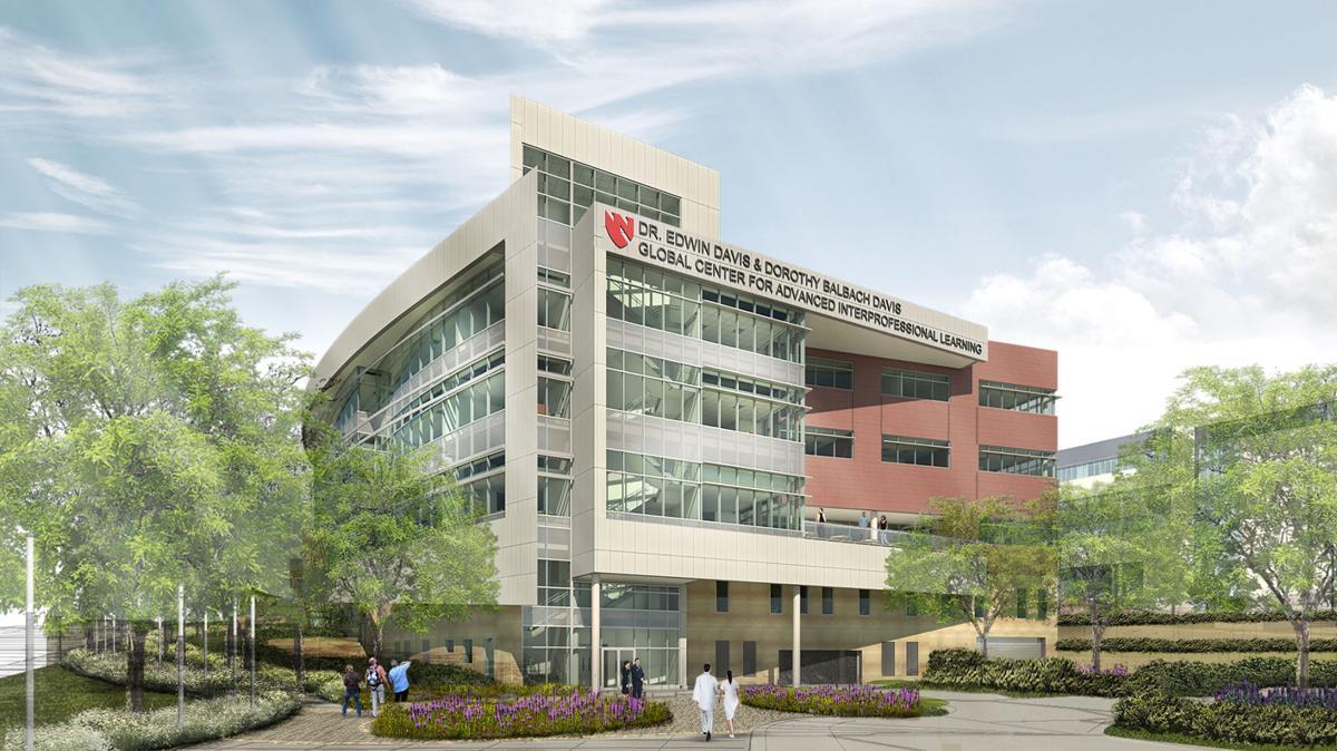 Davis Global Center rendering
