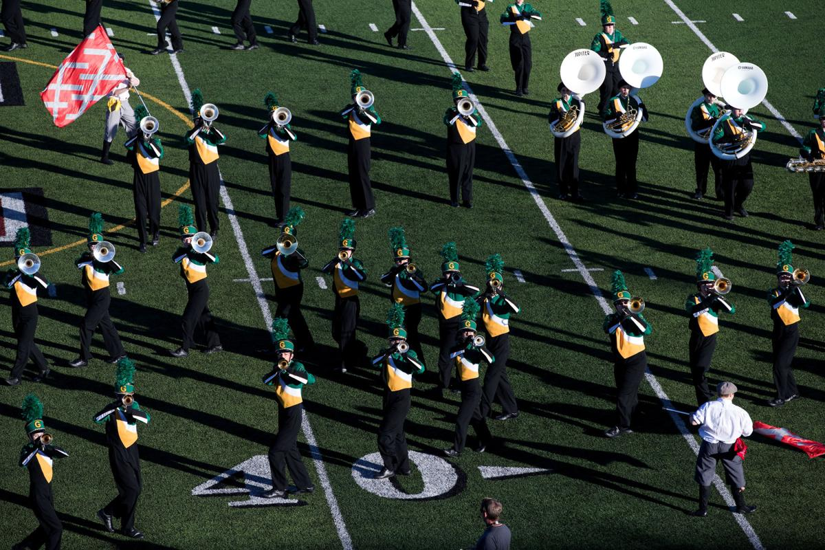 Gretna High marching band