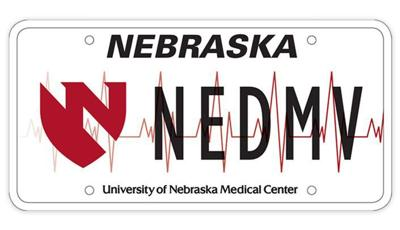 UNMC specialty plate