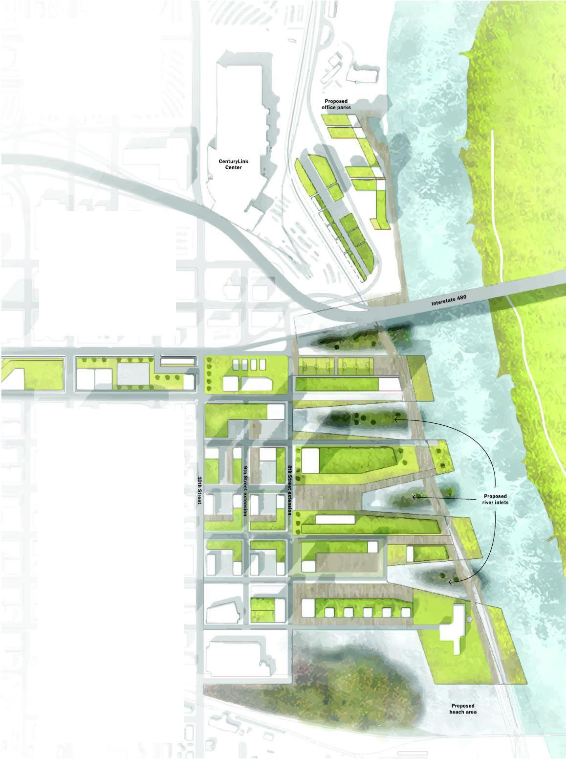 What\'s next on riverfront? Let\'s dream | Articles | omaha.com
