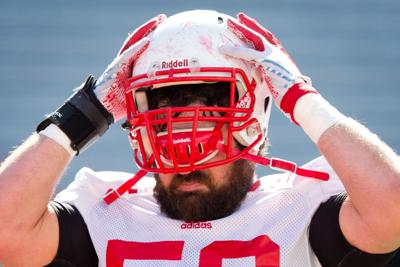 Husker helmets will feature player's home area code