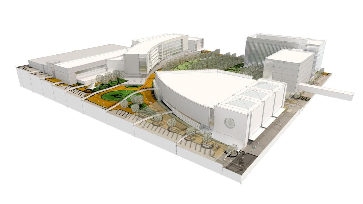 Civic Auditorium rendering