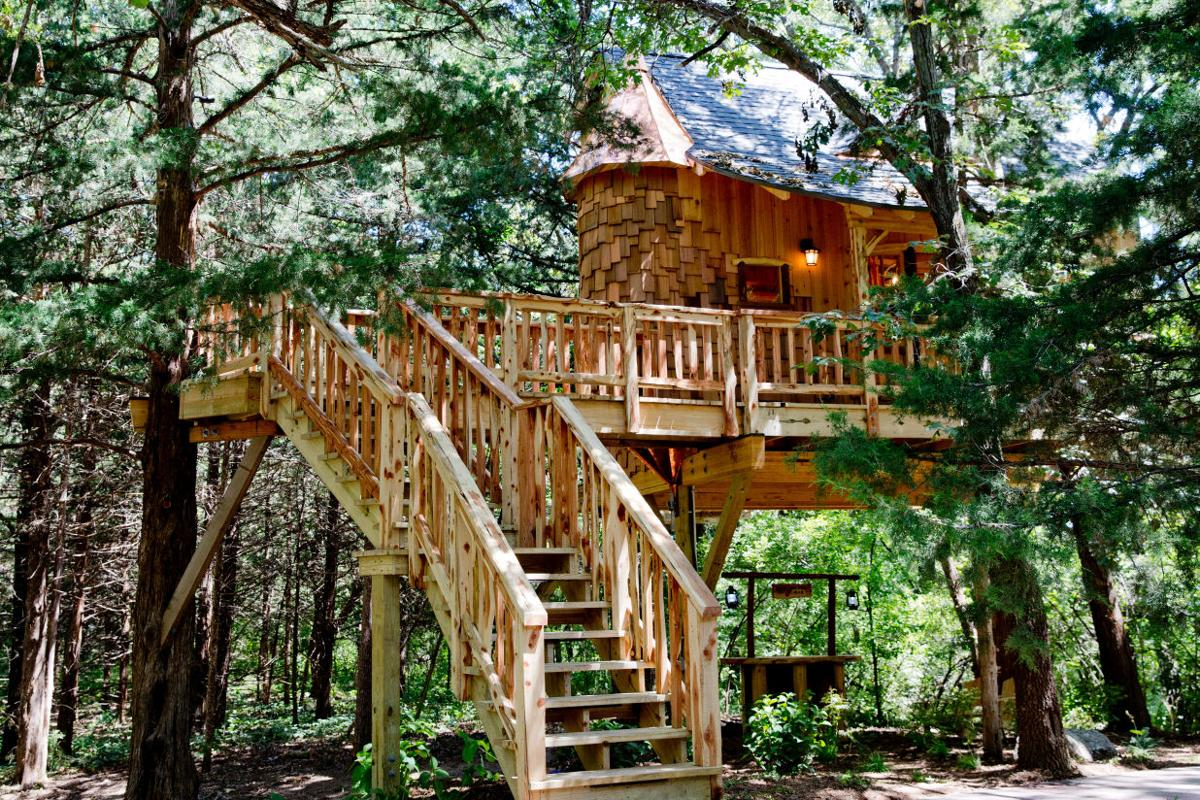 a dream treehouse grew in nebraska thanks to a reality tv show