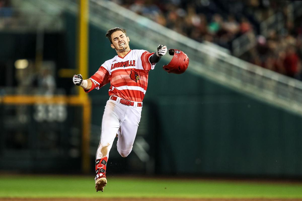 Louisville remains in College World Series with ninth-inning rally
