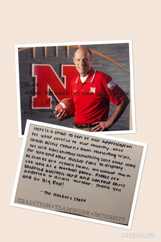 A Husker game plan for when a soldier returns home | Big Red Today ...
