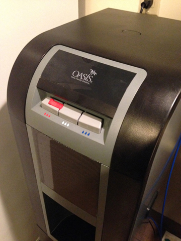 Toni: The controversial water cooler
