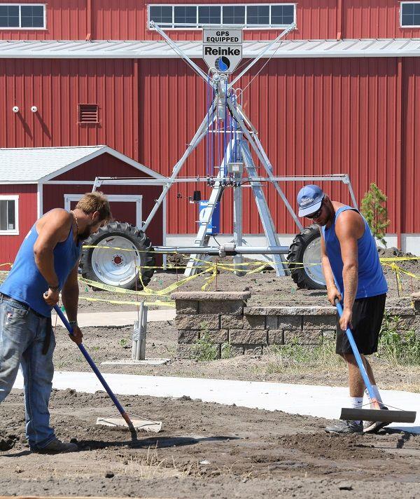 Roses In Garden: New At The State Fair: A Giant Nebraska-shaped Garden