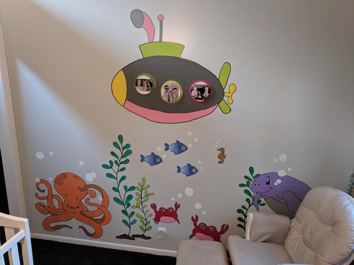 Even Non Artists Can Create Beautiful Nursery Wall Paintings