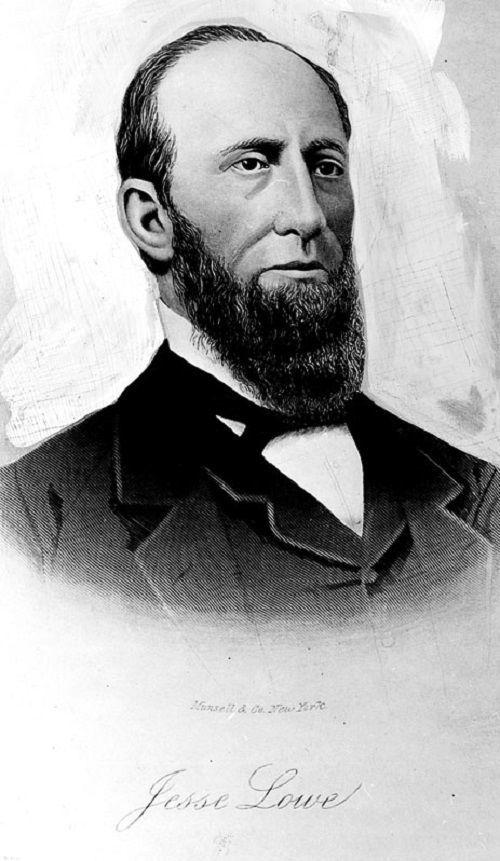 Jesse Lowe 1857-1858
