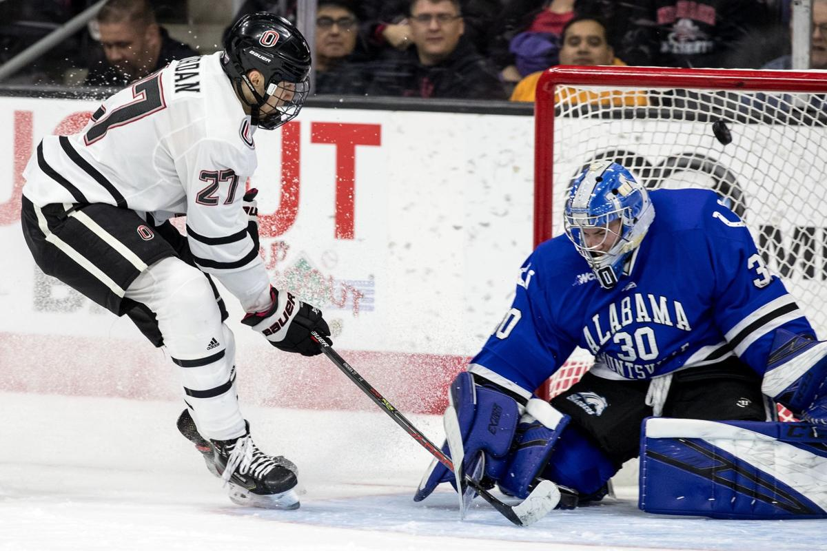 Five power-play goals lead UNO hockey to win over Alabama Huntsville in season opener