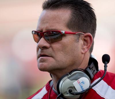 Former Nebraska offensive coordinator Tim Beck