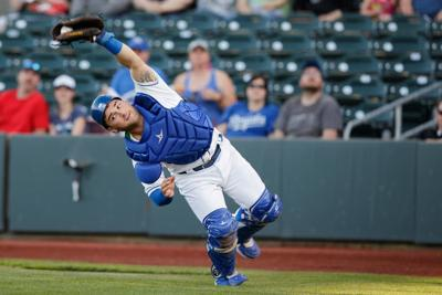 After down season, catcher Nick Dini hitting again, doing 'damage' for Storm Chasers