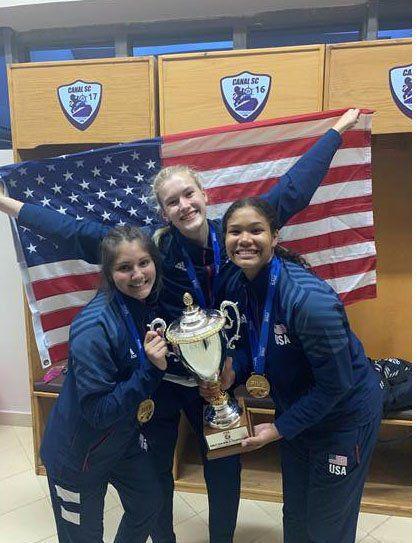 Under-18 U.S. world championship team