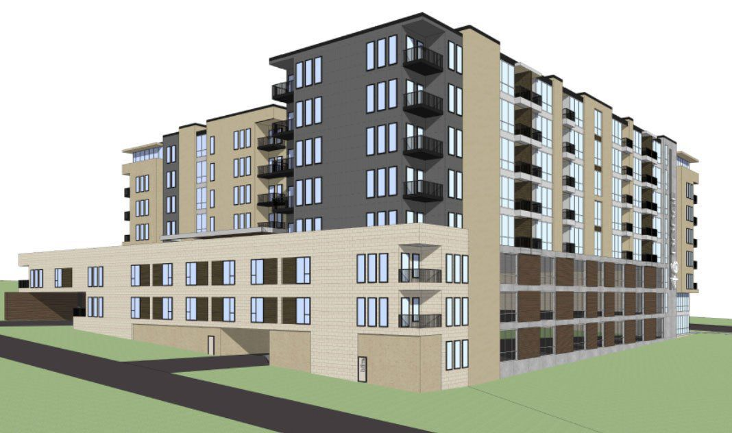 Developer plans 8-story building with 278 apartments on ...
