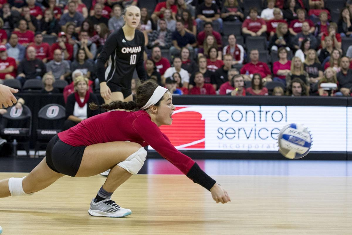 Ex-Elkhorn teammates Claire Mountjoy, Grace Nelson now opponents in first Creighton-UNO match