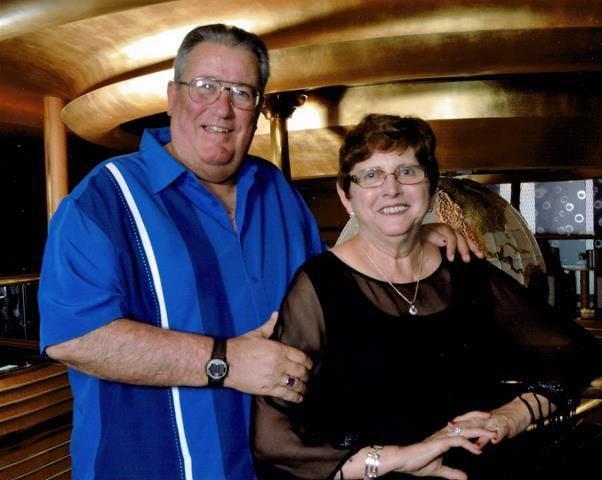 Dave Huelsmann and Barb St. John