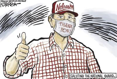 Jeff Koterba's latest cartoon: A big thumb's up
