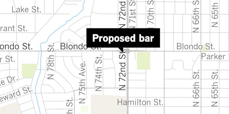 Bikini bar map