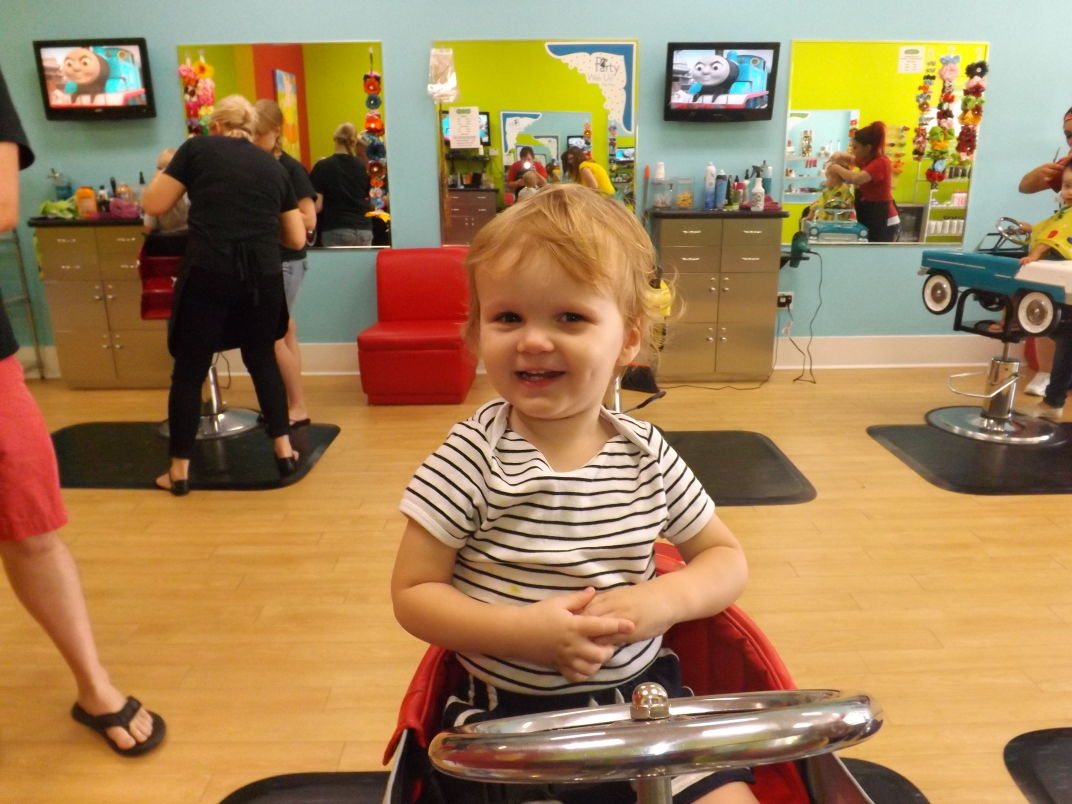 My Sons First Haircut Transformed Him From Baby To Little Boy