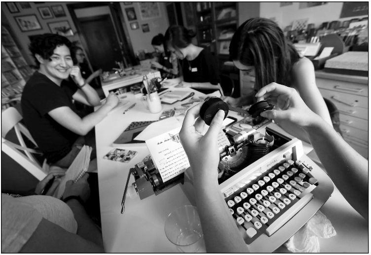 Letter writing a social, artistic outlet for Pen Pal Club
