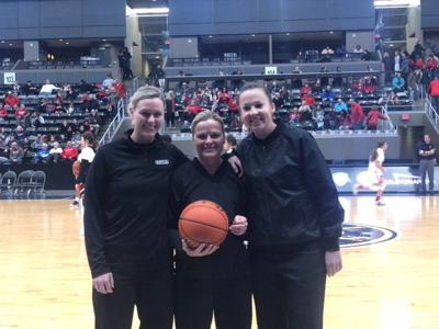 'Another milestone' set after the first all-female crew officiates the Metro girls' championship