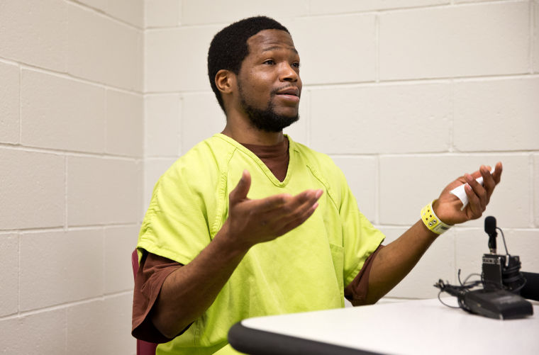 Video: Newly convicted murderer maintains his innocence