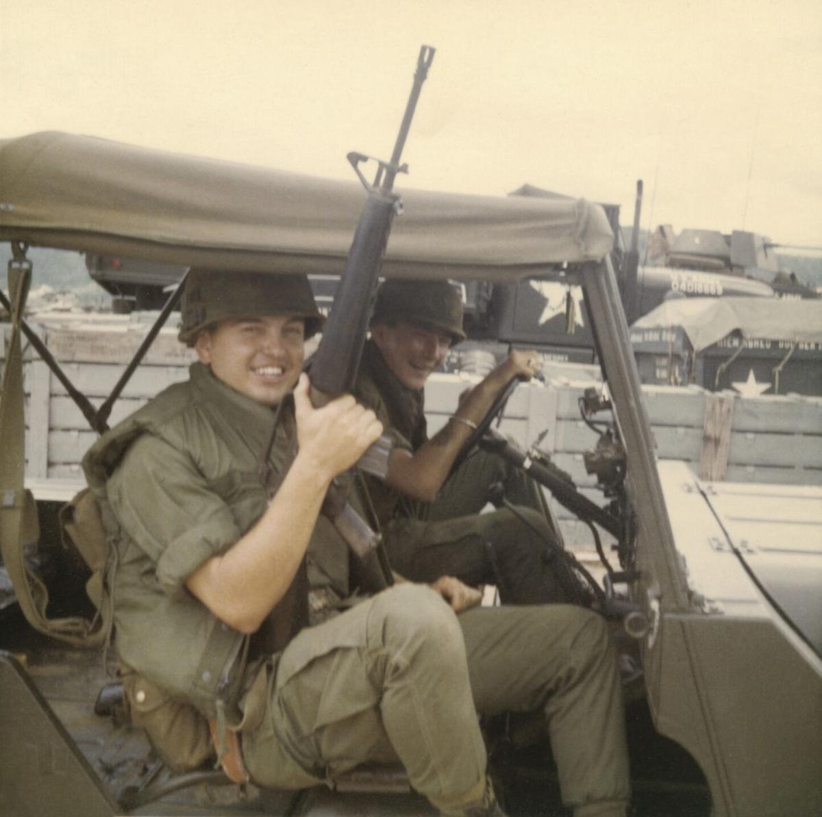 James Martin Davis, in Vietnam