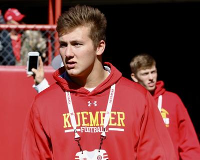 Nebraska, Iowa and Iowa State competing for Carroll Kuemper defensive end Blaise Gunnerson