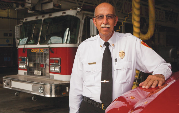 Council Bluffs Fire Chief Alan Byers is leaving department 'on top'