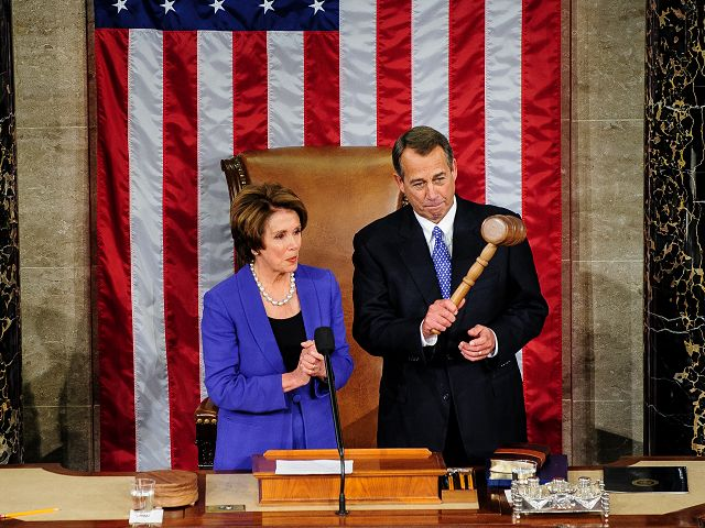 Discord clear in narrow re-election of Boehner
