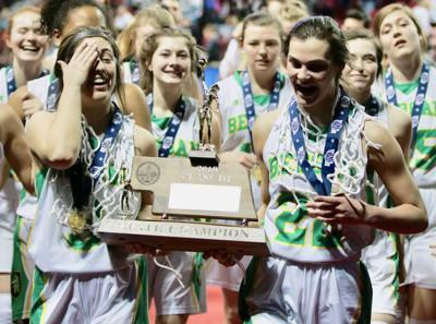 Class D-1: Fremont Bergan completes volleyball-basketball title sweep with win over Dundy County-Stratton