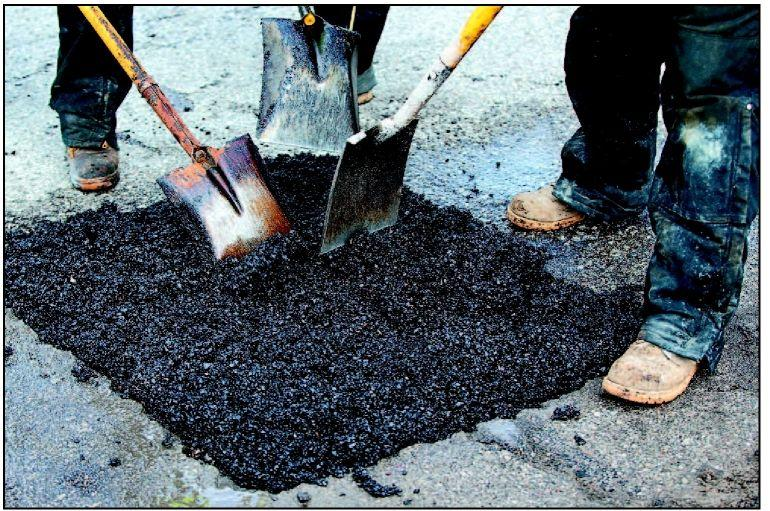 Pothole patrol out in force