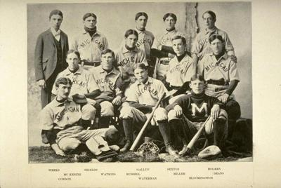 Michigan Baseball, 1895