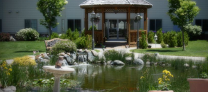 Silver Ridge | Assisted Living | Memory Support | Calming Garden