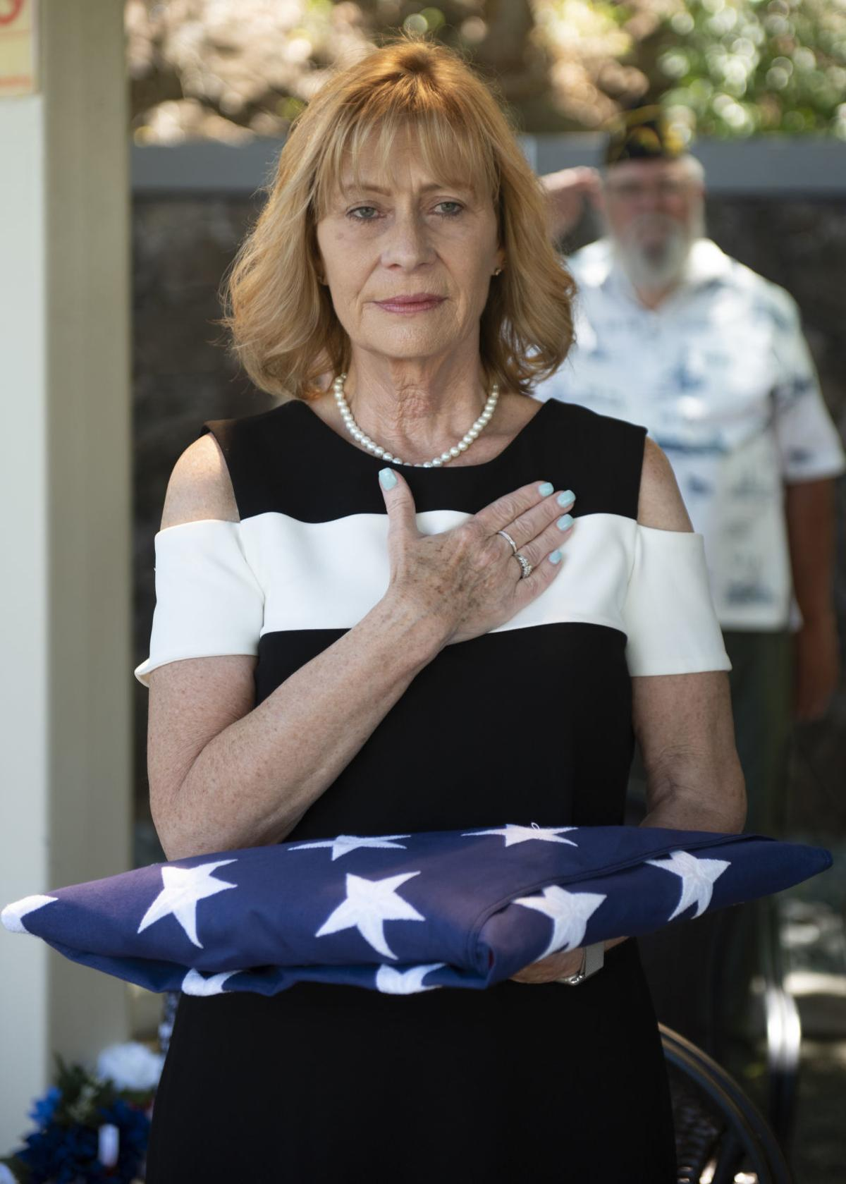 Niece pays respects to Nebraska sailor Grant Cook, who died at Pearl Harbor