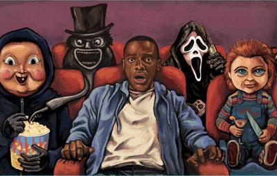 Go horror movie theater