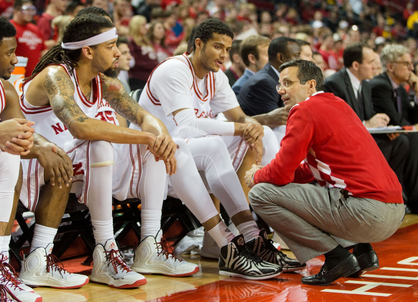 Nebraska coach Tim Miles denies reports of