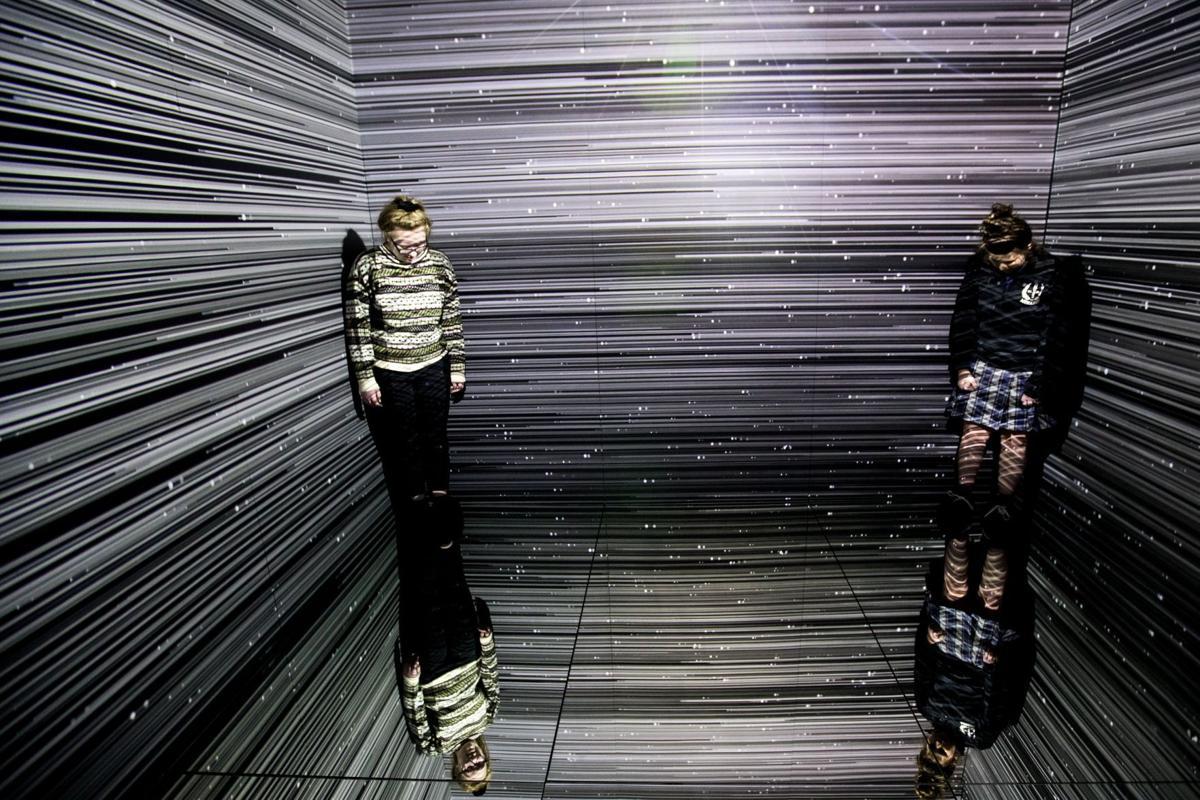 Kaneko's 'light' exhibition