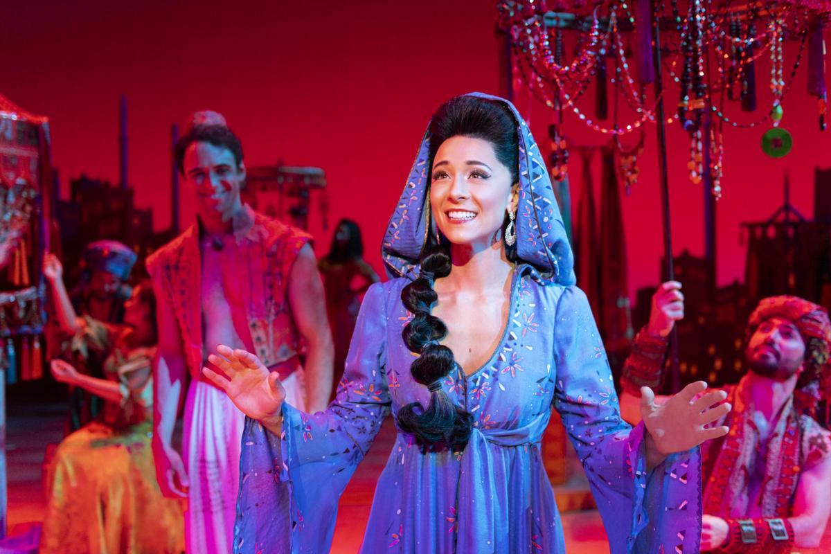 Lissa deGuzman (Jasmine). Aladdin North American Tour. Photo by (copy)