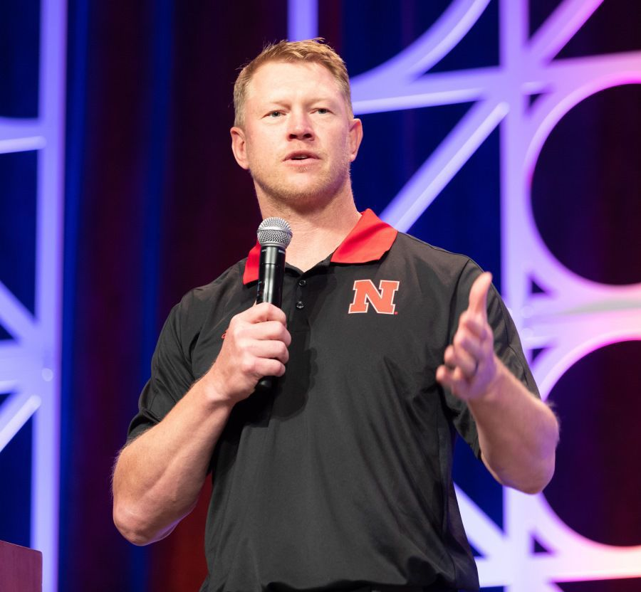 Recruits, be warned. Husker coach Scott Frost is watching your social media