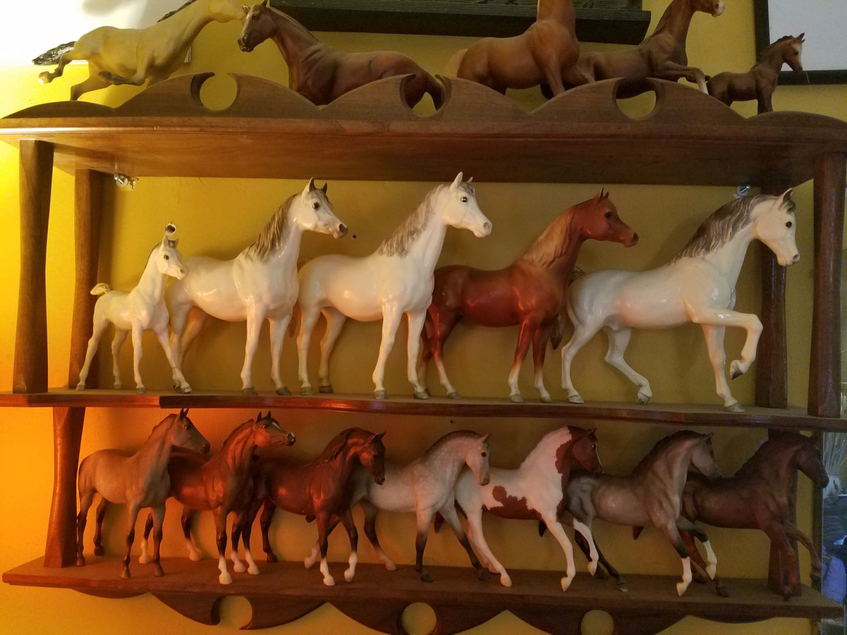 She Has 200 Horses In Her House Breyer Fanatics Stay Young Through Their Model Equine Collections Inspired Living Omaha Com