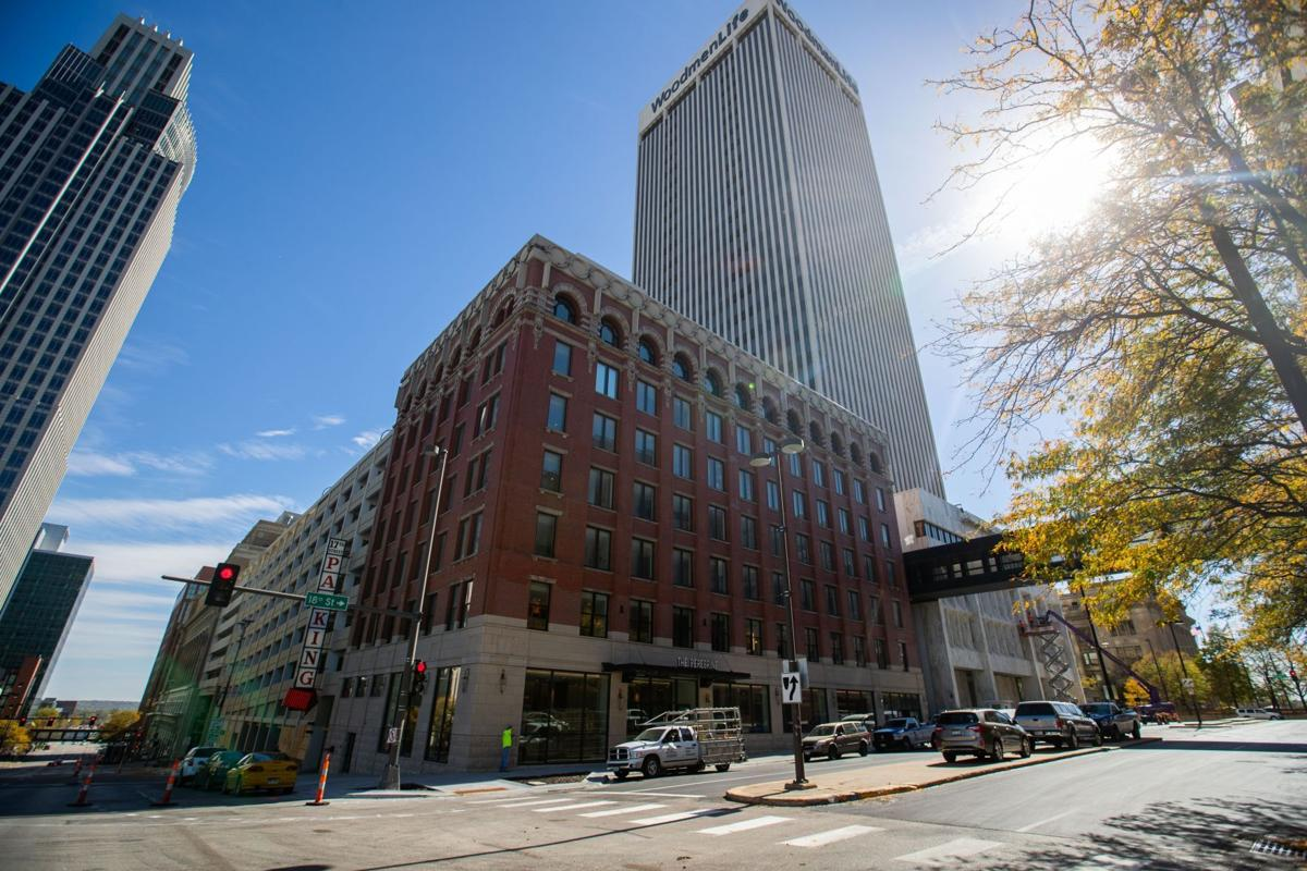 Downtown building soon to launch again — as the Peregrine Hotel